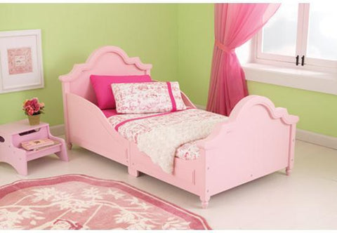 KidKraft 86944 Raleigh Toddler Bed Pink - Peazz.com