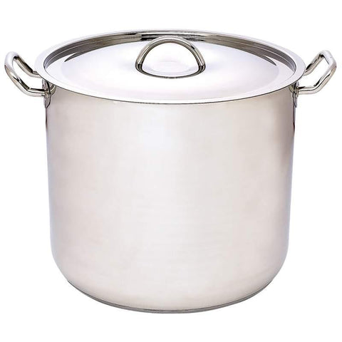 Precise Heat 65qt 12-Element Surgical Stainless Steel Stockpot - Peazz.com