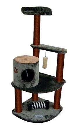 Maple Cat Tree by Kitty Mansions - Peazz.com