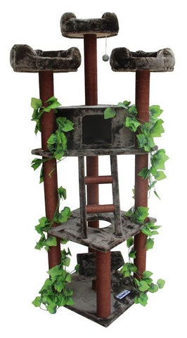 Redwood Cat Tree by Kitty Mansions - Peazz.com