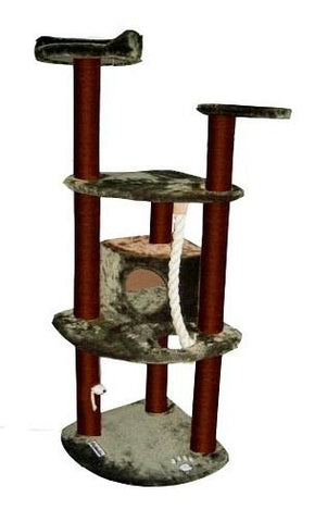 Spruce Cat Tree by Kitty Mansions - Peazz.com
