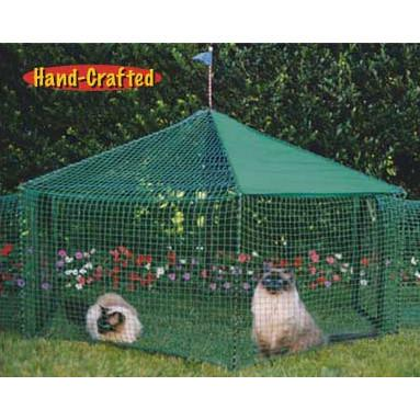 Kittywalk Gazebo (KWGAZ1) - Peazz.com