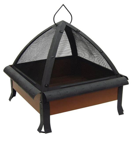 Bayden Hill 25421 24 In. Tudor, Oval & Circle Emboss, Ga Clay Firebox, Includes Poker - Peazz.com