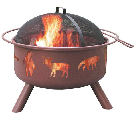 Landmann 28337 Big Sky® - Wildlife - Georgia Clay, Includes Cover And Cooking Grate - Peazz.com