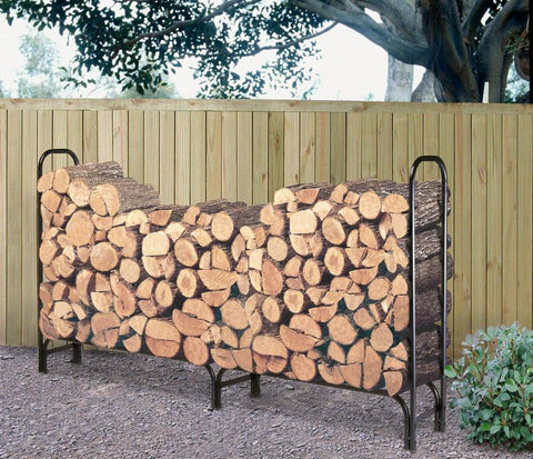 Landmann 82434 8' Log Rack W/Zipperless Cover  (32Mm Tube And 1.0Mm Thickness) - Peazz.com