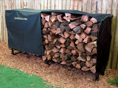 Landmann 82471 Heavy Duty Cover For 8' Log Rack (Pvc With Polyster) - Peazz.com