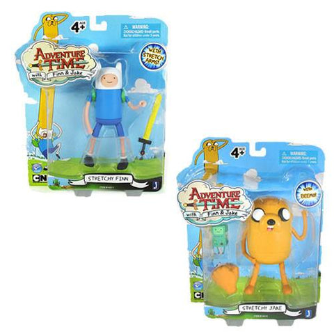 "Jazwares JW142102 Adventure Time - 5"" Finn and Jake Figures Set - Peazz.com"