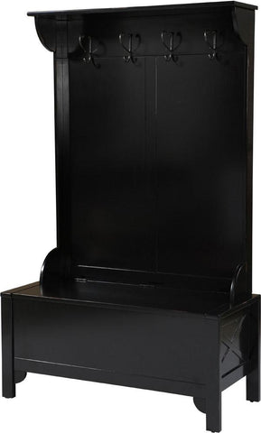 Anna Hall Tree-Wide-Black - 84020BLK-01-KD-U - Peazz.com