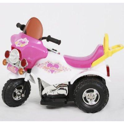 Little Princess 2007G Battery Operated Motorcycle Ride on Car - Peazz.com