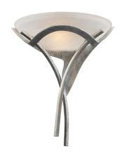 Landmark 001-TS Aurora One Light Sconce in Tarnished Silver - Peazz.com
