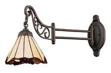 Landmark 079-TB-03 Mix-N-Match One Light Swingarm Sconce in Tiffany Bronze - Peazz.com
