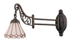 Landmark 079-TB-04 Mix-N-Match One Light Swingarm Sconce in Tiffany Bronze - Peazz.com