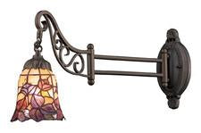 Landmark 079-TB-17 Mix-N-Match One Light Swingarm Sconce in Tiffany Bronze - Peazz.com