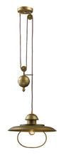 Landmark 65051-1 Farmhouse One Light Pulldown Pendant in Bellwether Copper