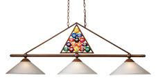 Landmark 66103-3 Designer Classic Collection Billiard lights inspired by the game itself. - Peazz.com