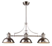Landmark 66115-3 Chadwick Three Light Billiard/Island Light in Polished Nickel - Peazz.com