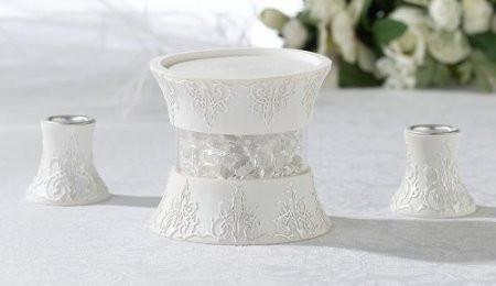 Lillian Rose CH930 3 Pc Candle Holder Set - Peazz.com