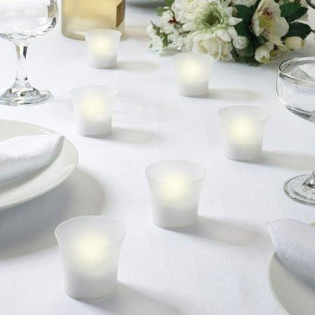 Lillian Rose CP100 W St/6 Led Tealight Votives - Peazz.com