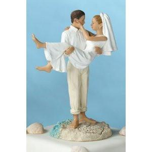 Lillian Rose F983 C Beach Wedding Figurine-Cauc