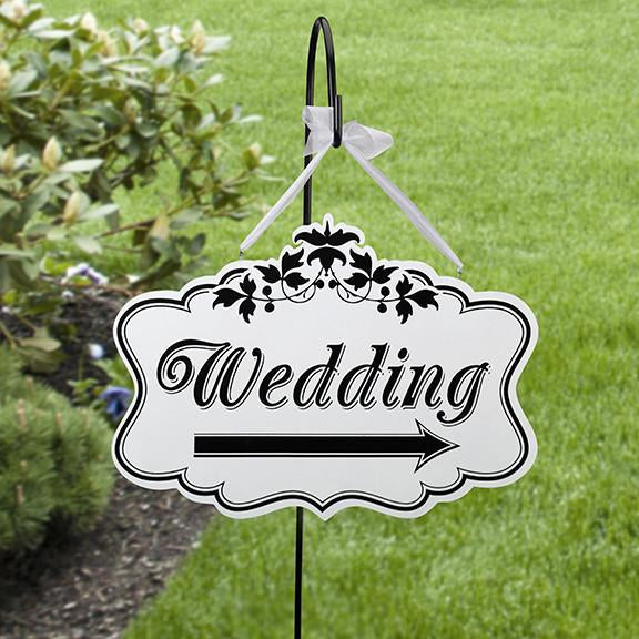 "Lillian Rose WF652 Wedding Sign - Large(18"")"