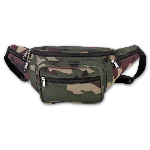 Extreme Pak Invisible Pattern Camo Waist Bag - Peazz.com