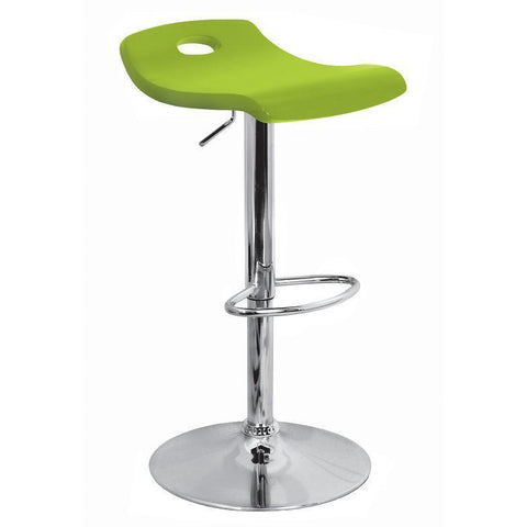 LumiSource Surf Barstool Green BS-SURF-WD-G - BarstoolDirect.com
