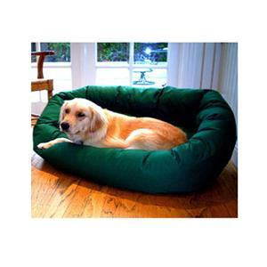 "Majestic Pet Small 24"" Bagel Bed - Green - Peazz.com"