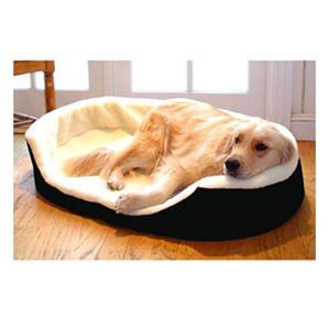 Majestic Pet Small 23x18 Lounger Pet Bed - Black - Peazz.com