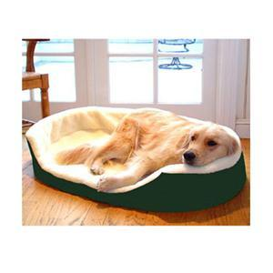 Majestic Pet Small 23x18 Lounger Pet Bed - Green - Peazz.com