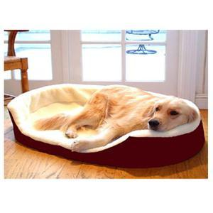 Majestic Pet Small 23x18 Lounger Pet Bed - Burgundy - Peazz.com