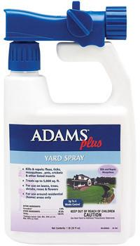 Adams Plus Yard Spray With Sprayer, 32 oz. - Peazz.com