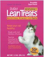 Lean Treats for Cats, 3.5 oz., 10 Pack - Peazz.com