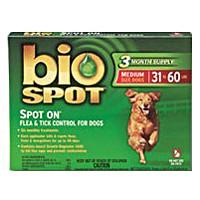 Bio Spot Spot On F/T Dog 31-60 lbs 3 Month - Peazz.com