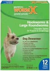 Sentry HC WormX Small Dog 12 Chewable Tablets - Peazz.com