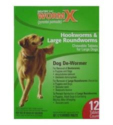 Sentry HC WormX Large Dog, 12 Chewable Tablets - Peazz.com