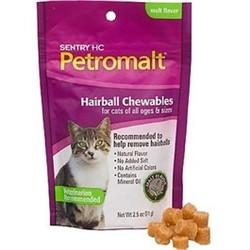 Sentry HC Petromalt Hairball Chewables - Malt, 2.5 oz - Peazz.com