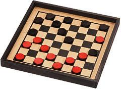 Maple Landmark 50320 Checkers, Premium Crown Set - Peazz.com