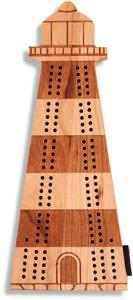 Maple Landmark 50530 Cribbage, Lighthouse - Peazz.com
