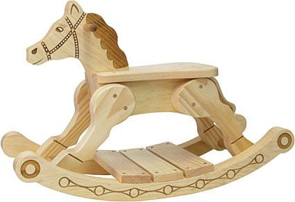 Maple Landmark 73060 Rocker-Feller Rocking Horse - Peazz.com