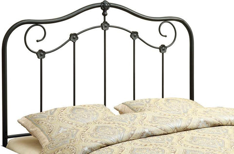 Monarch Specialties I 2618Q Coffee Queen / Full Size Combo Headboard - Footboard Only - Peazz.com