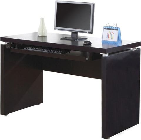 "Monarch Specialties I 7003 Cappuccino 48""L Computer Desk - Peazz.com"