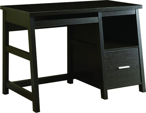 "Monarch Specialties I 7038 Cappuccino 48""L Computer Desk With A Storage Drawer - Peazz.com"