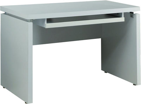 "Monarch Specialties I 7053 White 48""L Computer Desk - Peazz.com"