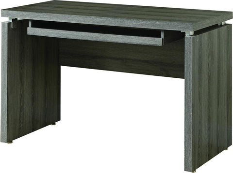"Monarch Specialties I 7303 Dark Taupe Reclaimed-Look 48""L Computer Desk - Peazz.com"