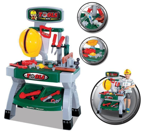 Berry Toys BR008-81 Workbench & Tools Play Set - WarehouseSpot