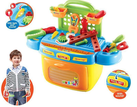 Berry Toys BR008-90 My First Portable Tool Box Play Set - WarehouseSpot