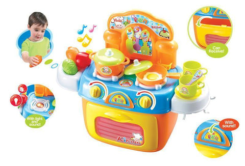 Berry Toys BR008-97 My First Portable Kitchen Play Set - Peazz.com
