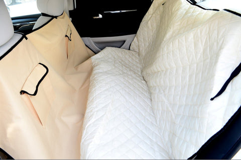 MDOG2 Car Seat Cover - 57 x 57 (Beige) - Peazz.com