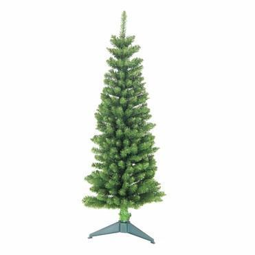 4' Pencil Green Tree 168 Tips - WarehouseSpot