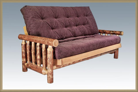 Montana Woodworks MWGCFMN Futon Frame w/ Mattress Glacier Country - Peazz.com